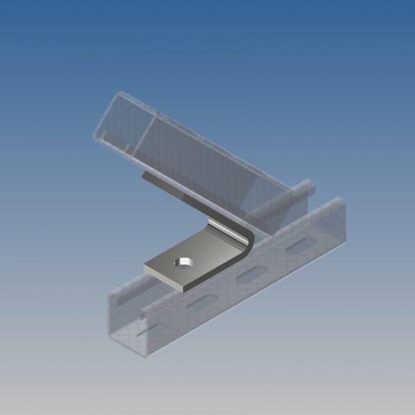 P1186 45 Degree Unistrut Acute Angle Bracket