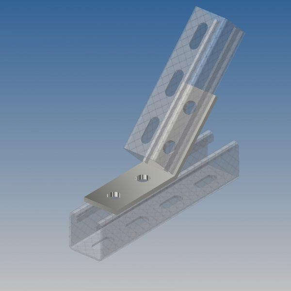 AB20/P1074 45 Degree Angle Bracket