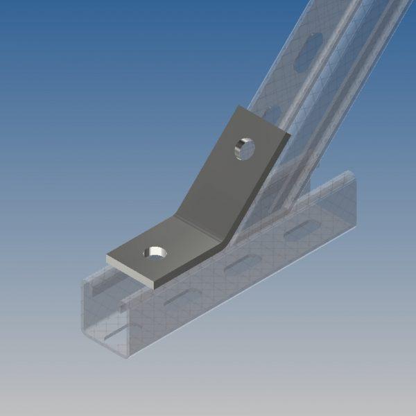AB21/P1546 45 Degree Obtuse Angle Bracket